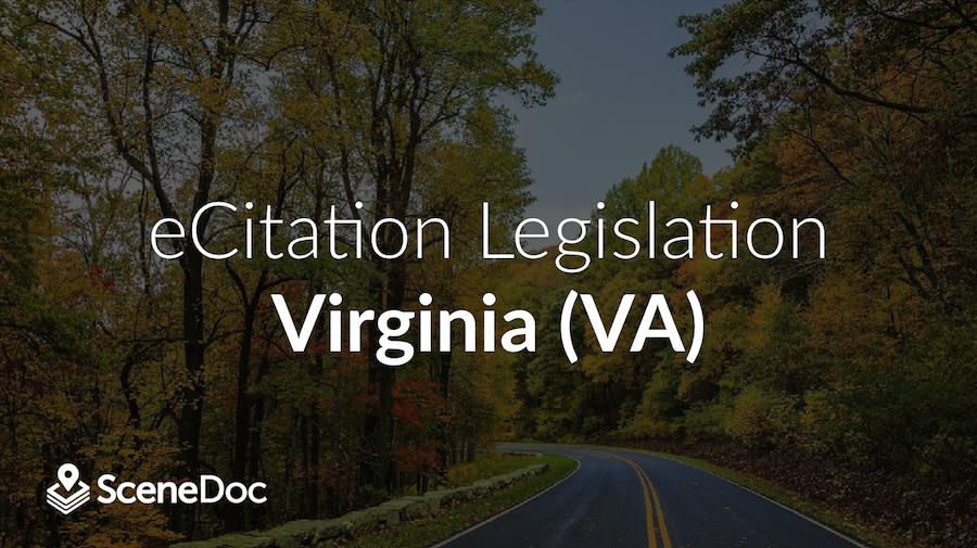 eCitation Legislation in Virginia (VA)