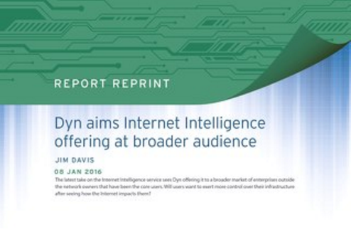 Dyn aims Internet Intelligence offering at broader audience