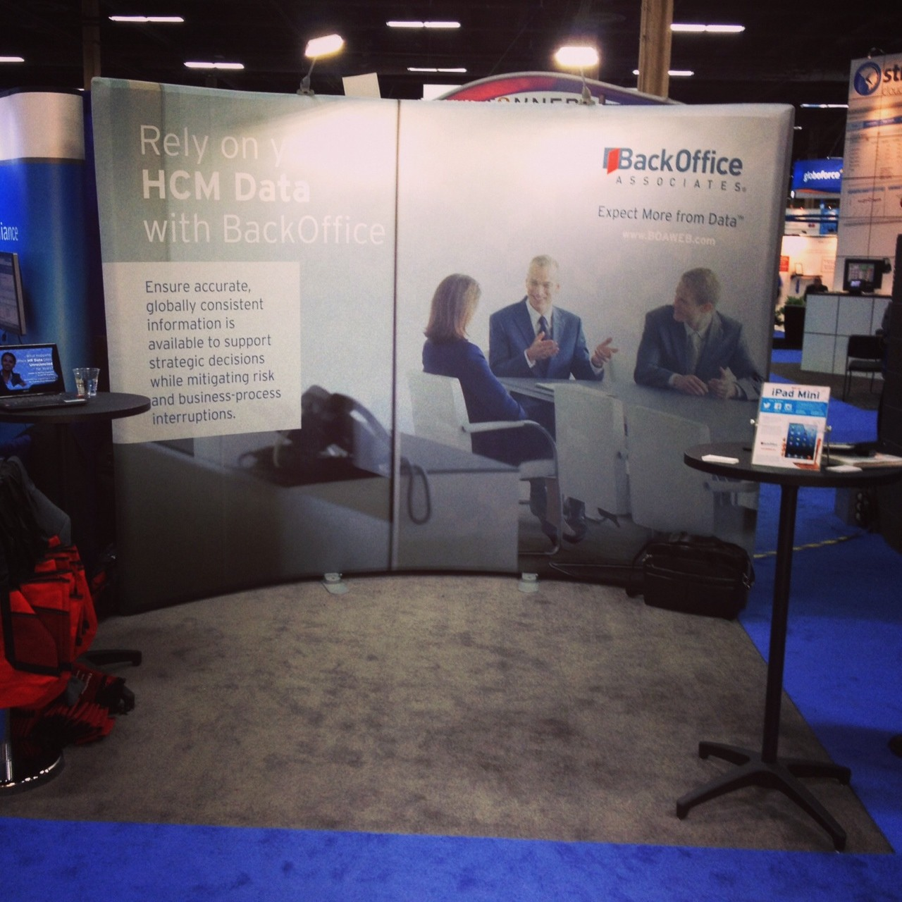 Image_BackOffice Associates' Booth at HR Technology Conference 2013