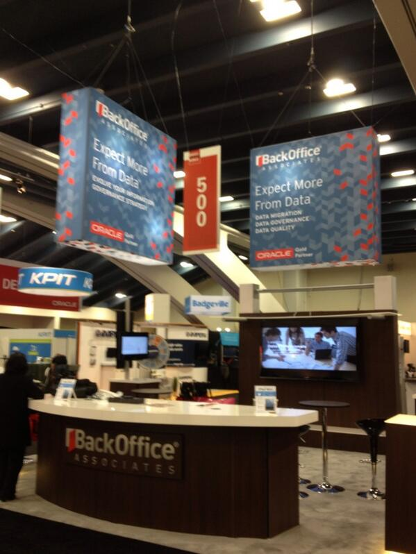 Image_BackOffice Associates' Booth at Oracle OpenWorld 2013