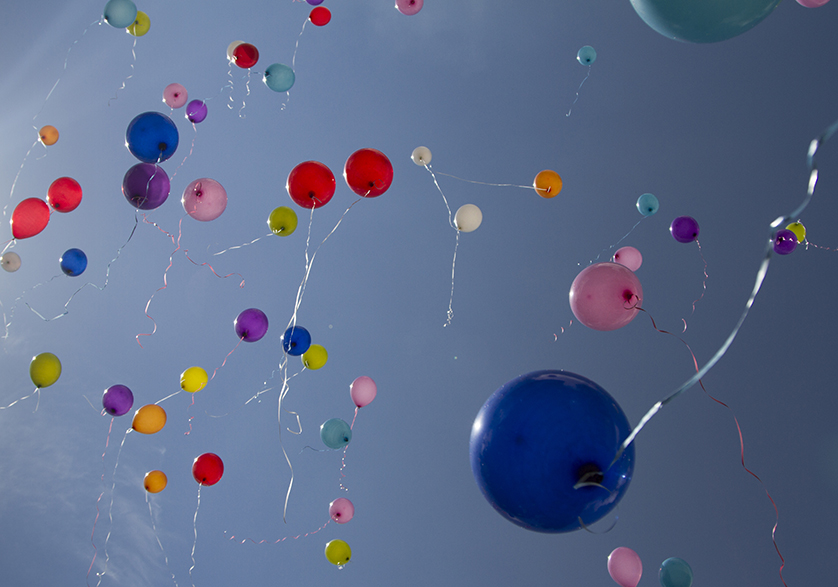 Image_Data Archiving_Balloons Flying Away
