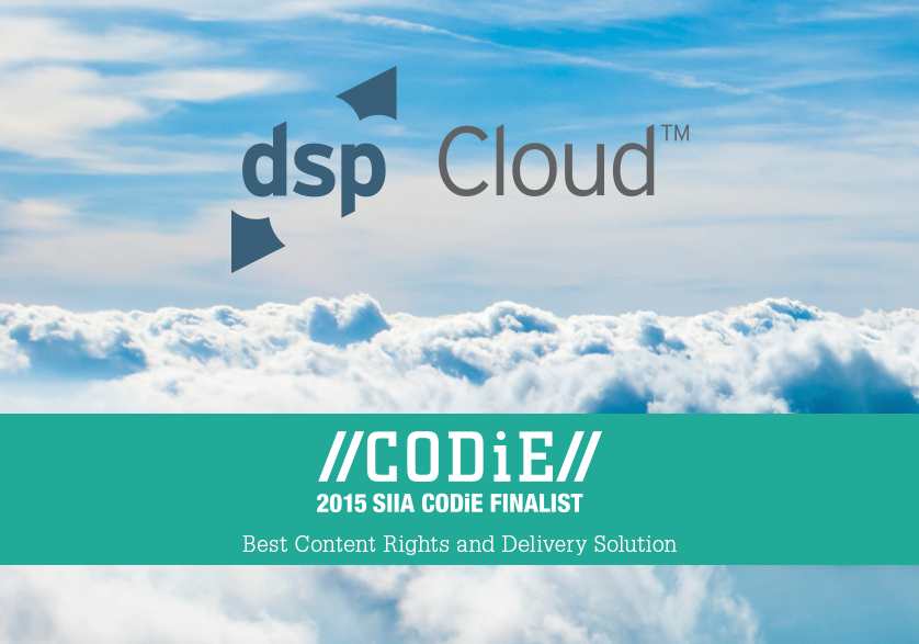 Image_dspCloud SIIA Content CODie Award Finalist