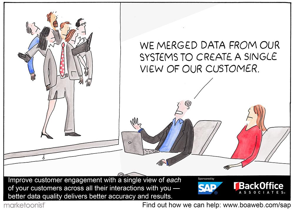 Marketoon_Single View of Customer Data
