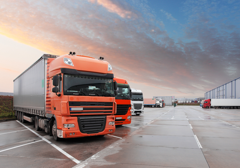 Image_Delivery Trucks for Supply Chain Management