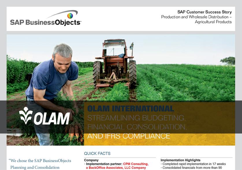 [Customer Story] Olam International