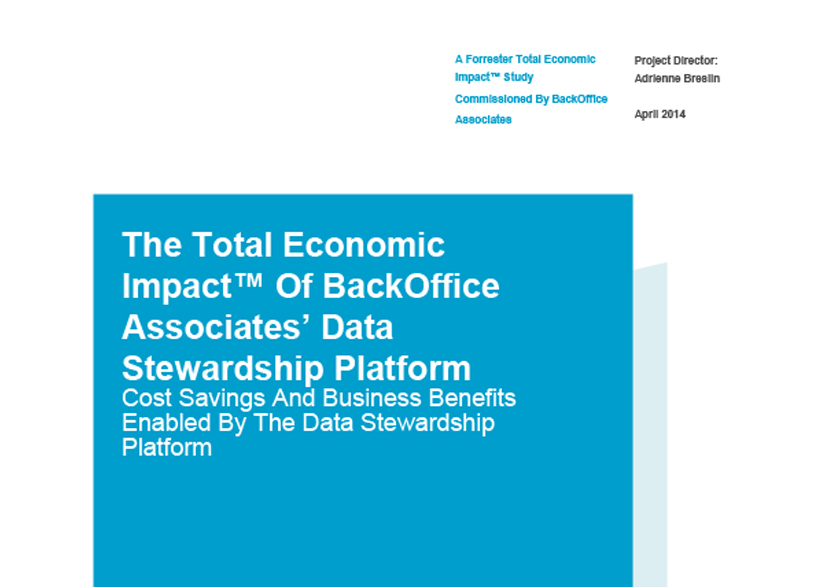 Data Stewardship Platform Total Economic Impact Study