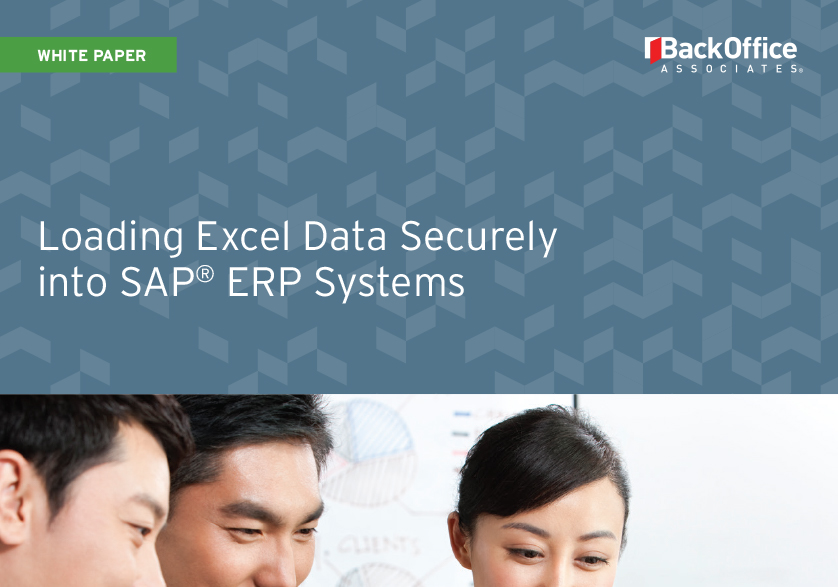 Loading Excel Data Securely into SAP ERP Systems