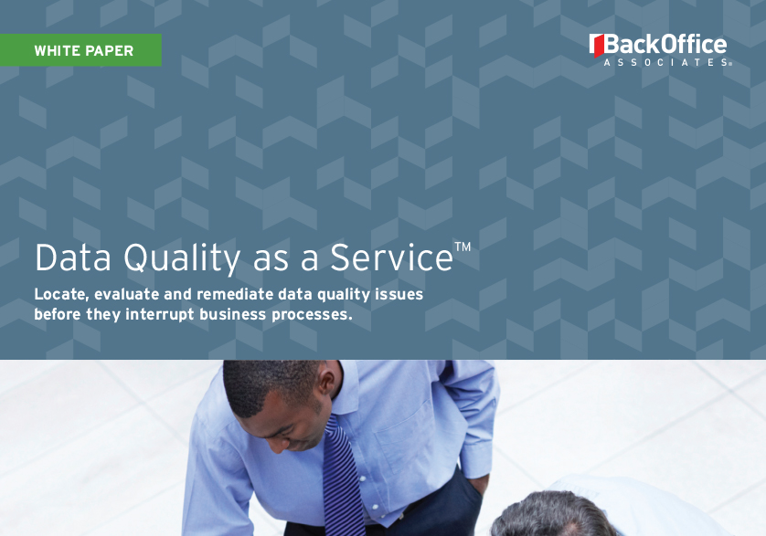 Data Quality as a Service (DQaaS)