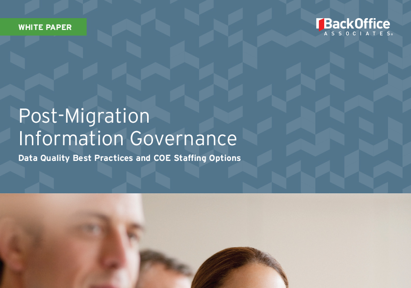 Post-Migration Information Governance