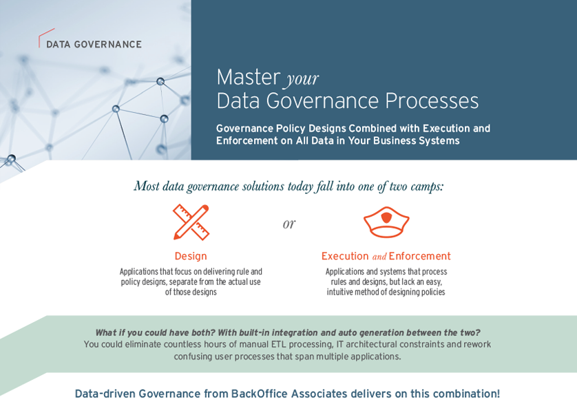 Data Governance Processes