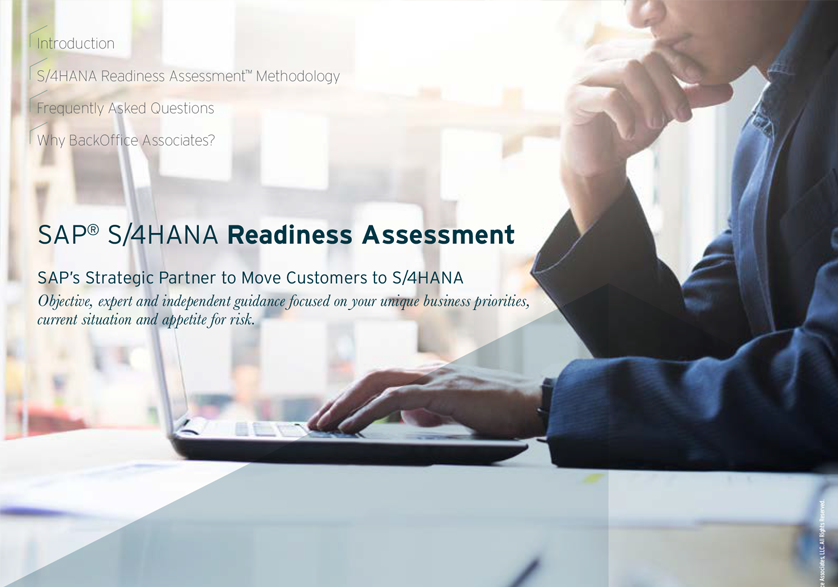 SAP® S/4HANA Readiness Assessment