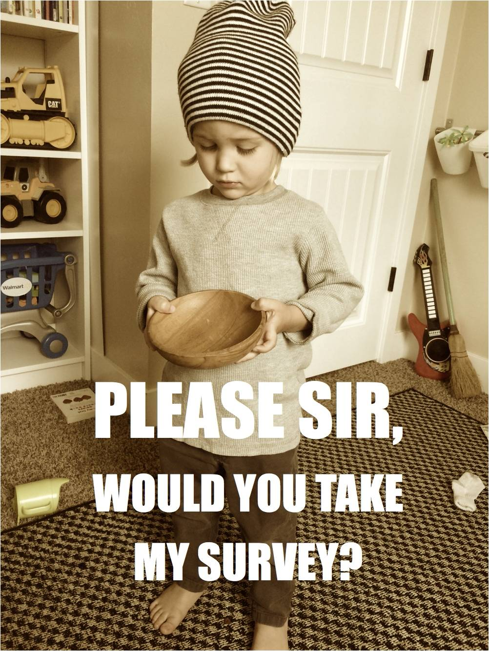 Can you please do my survey?