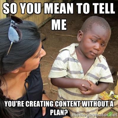 Marketing Plan Meme