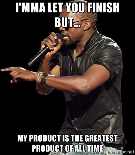 Kanye West Marketing Meme