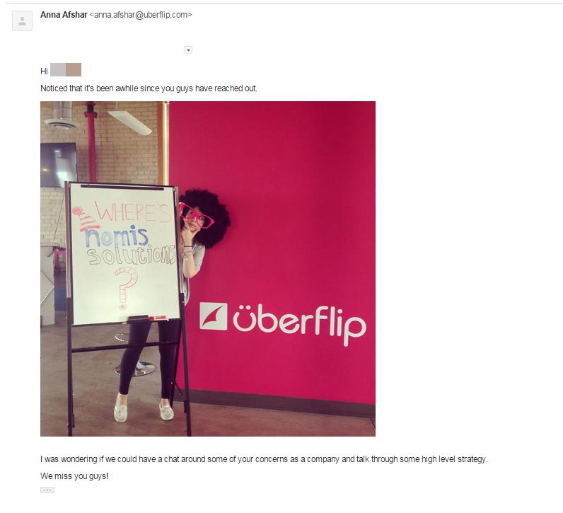 sales outreach humor