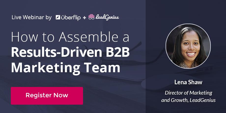 Grow Your B2B Marketing Team