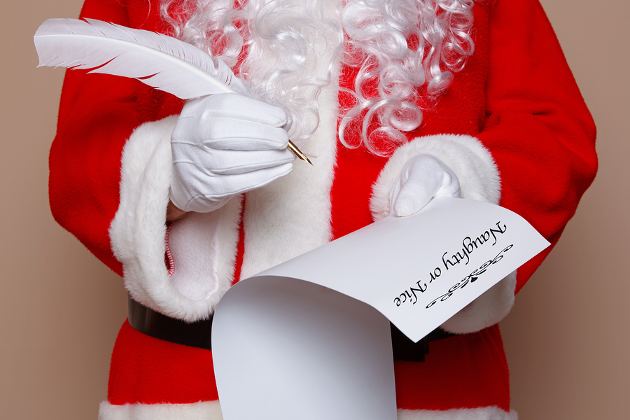 Naughty list marketing