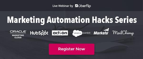 The Marketing Automation Hacks Webinar Series