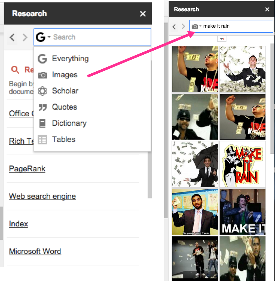 Research Google Docs