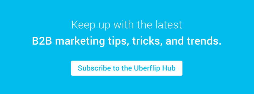 Subscribe to Uberflip Hub