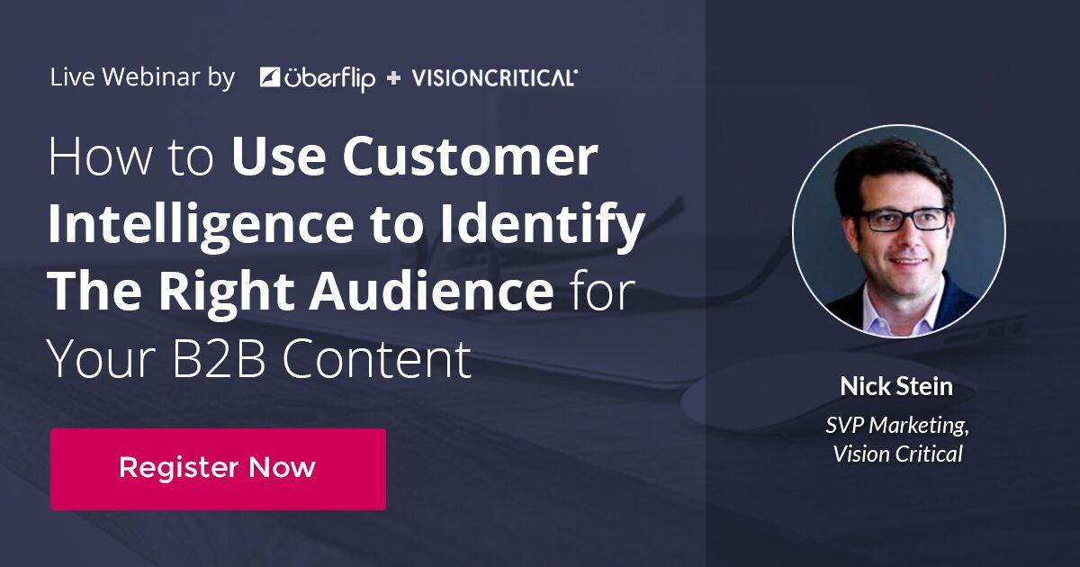 customer intelligence webinar