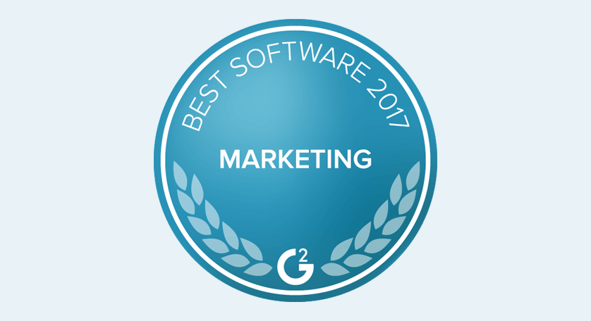 G2 Crowd Best Software for Marketing Teams 2017