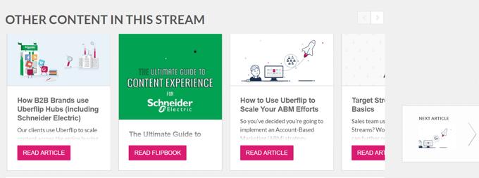ABM Personalized Content | Uberflip