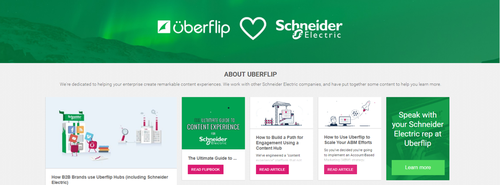 ABM Customized Content | Uberflip