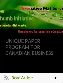 UNIQUE PAPER PROGRAM FOR CANADIAN BUSINESS