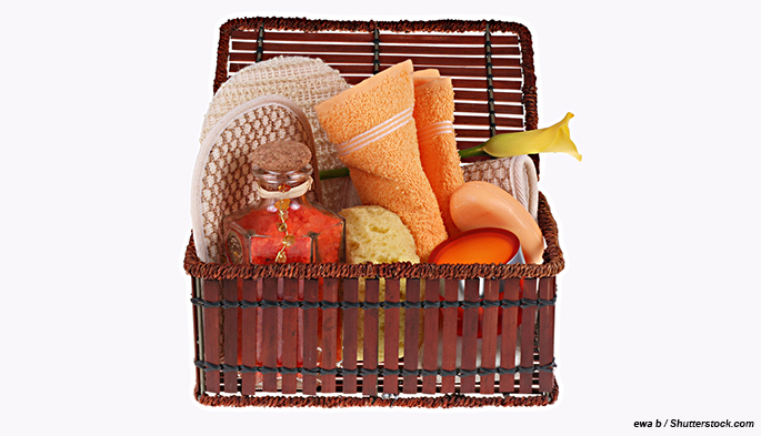 Spa gift basket salon gift basket and beauty gift packages