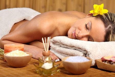 Healthy relaxation massage therapy