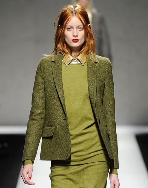Winter 2015 hair color trends: warm auburn