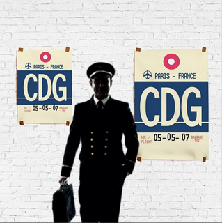 Airport Tag CDG