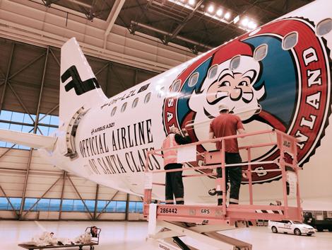 Finnair Livery Santa Claus
