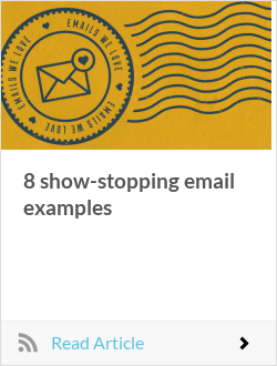 8 show-stopping email examples