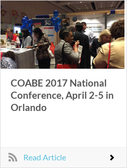 COABE 2017 National Conference, April 2-5 in Orlando