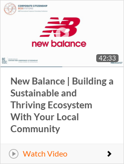 New Balance | Building a Sustainable and Thriving Ecosystem With Your Local Community