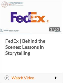 FedEx | Behind the Scenes: Lessons in Storytelling