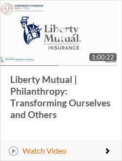 Liberty Mutual | Philanthropy: Transforming Ourselves and Others