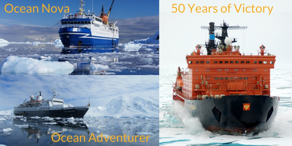 Quark Expeditions Arctic Ships
