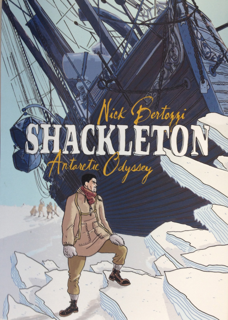 Shackleton Comic Cover