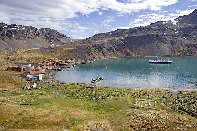 Grytviken Harbour