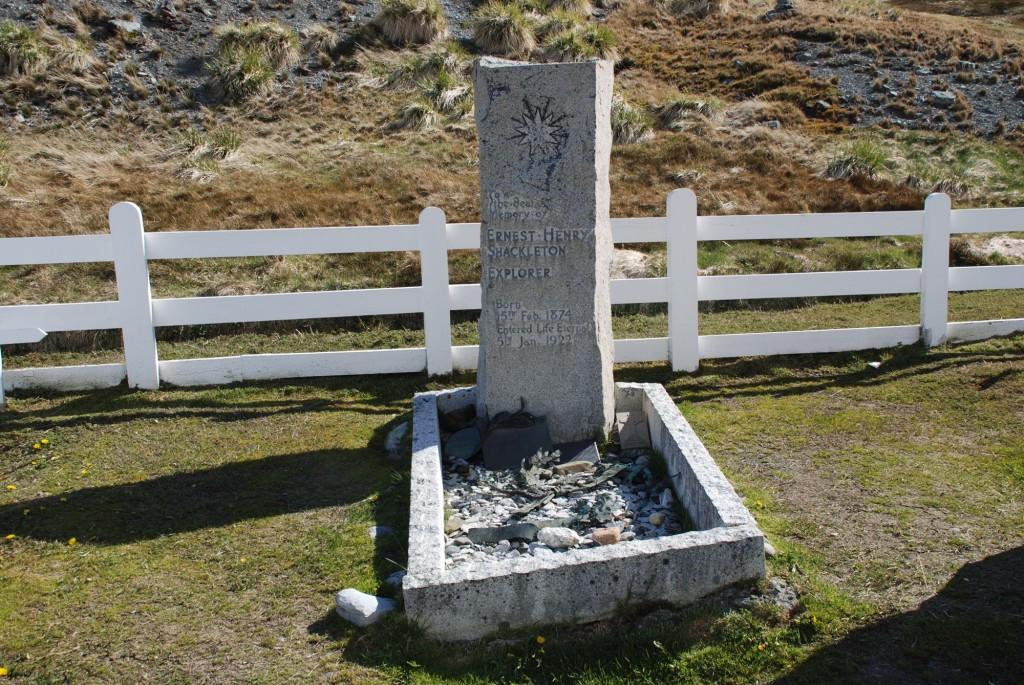 Ernest Shackleton's grave
