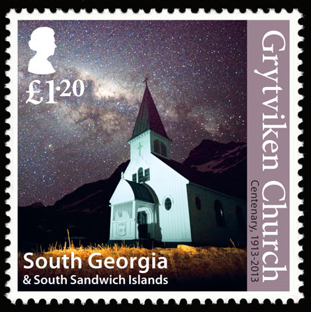 Church Centenary Stamp