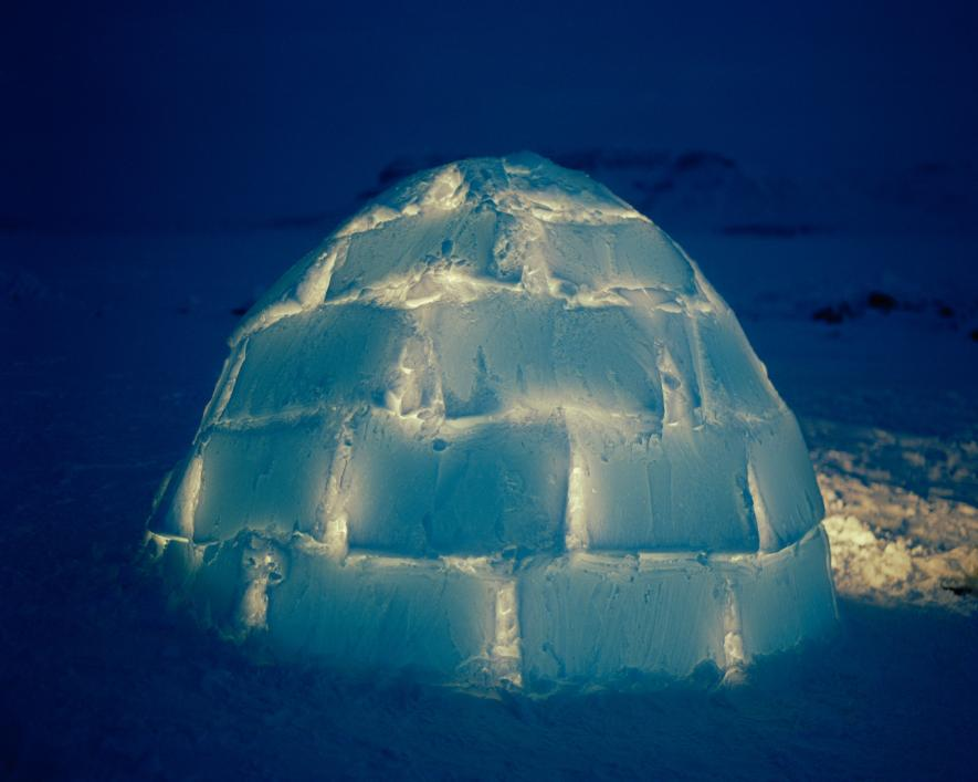 Igloos aren't used as permanent shelter today, but many Inuit in the Canadian High Arctic still know how to build one.