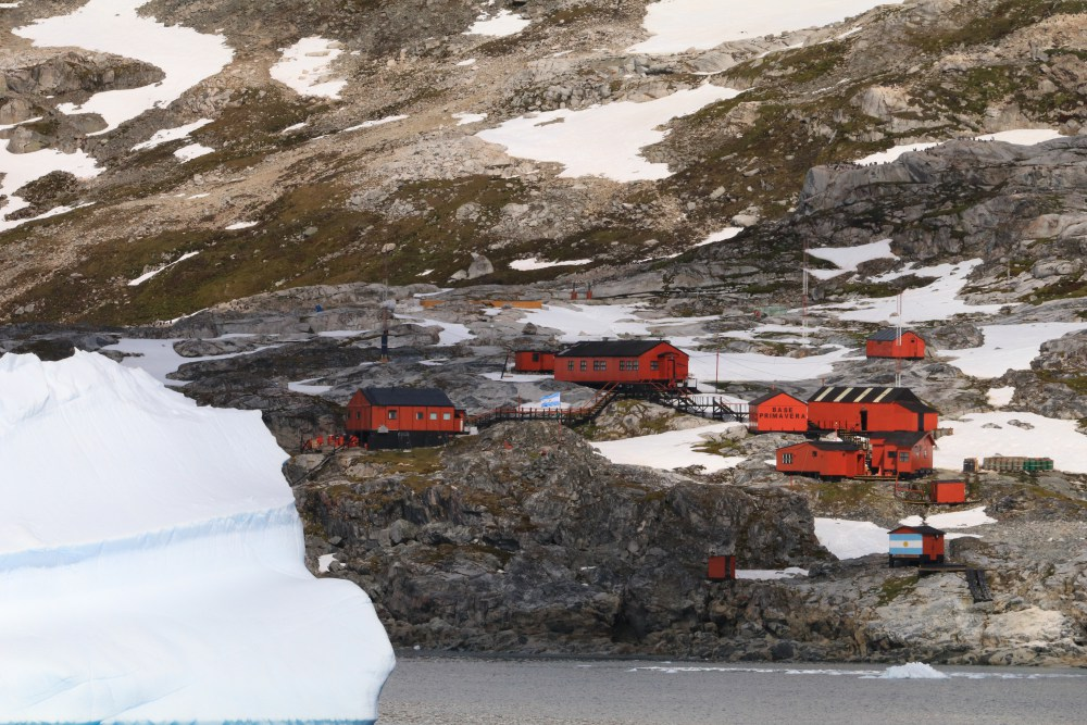 Primavera, Argentina's summer station in Antarctica.
