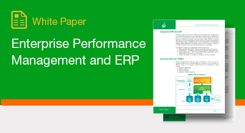 Enterprise Performance Management and ERP
