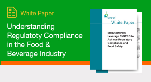 Understanding Regulatory Compliance in the Food & Beverage Industry