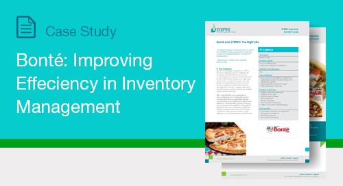 Bonté: Improving Effeciency in Inventory Management