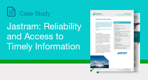Jastram: Reliability and Access to Timely Information